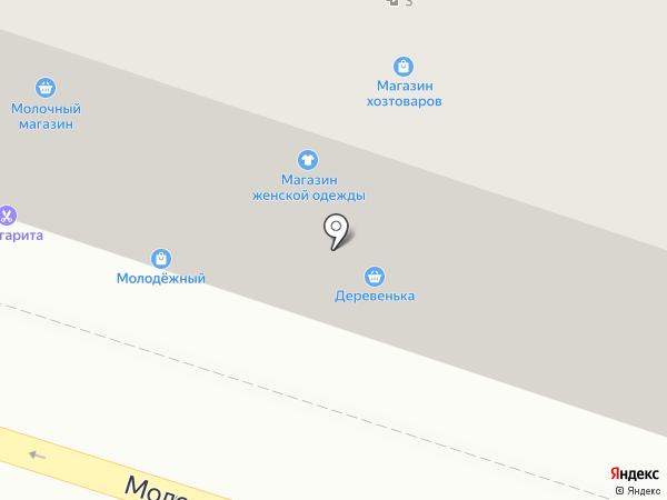 Пеликафе на карте Тольятти