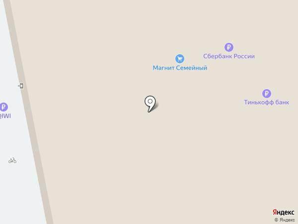 Магнит на карте Тольятти