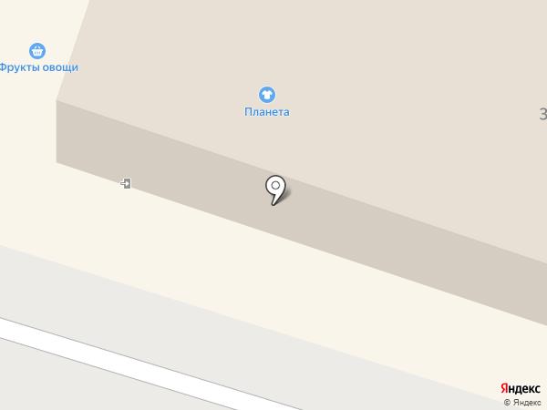 Планета на карте Тольятти