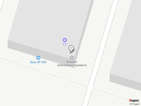 СТ на карте Тольятти
