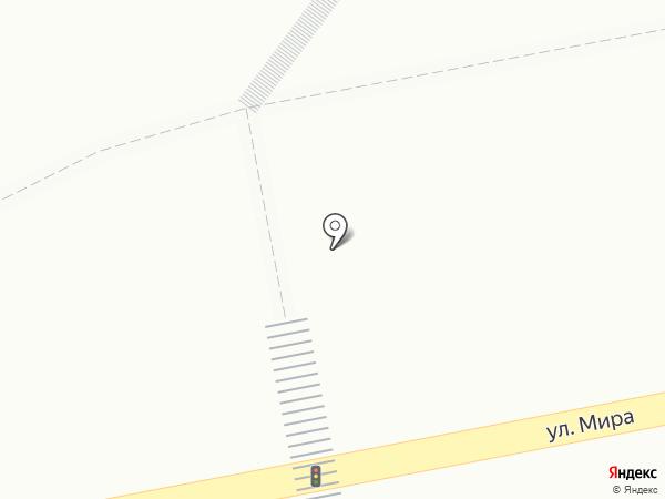 Киоск фастфудной продукции на карте Тольятти