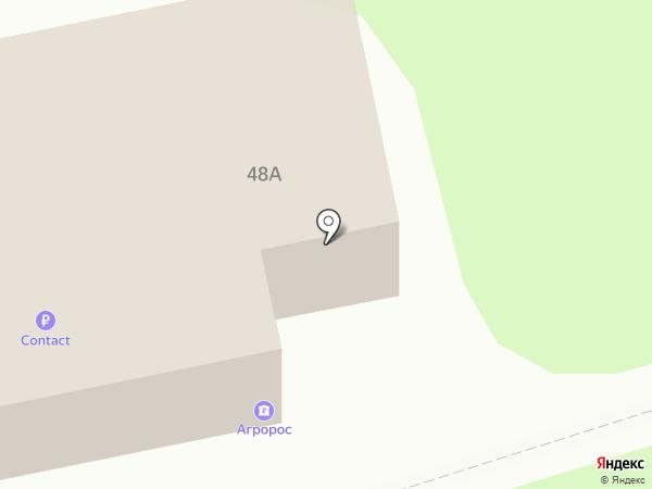 Банк Агророс на карте Тольятти