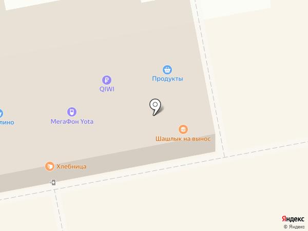 Мегалайн на карте Тольятти