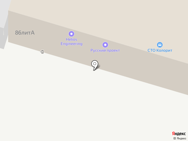 ФОР, ЗАО на карте Тольятти