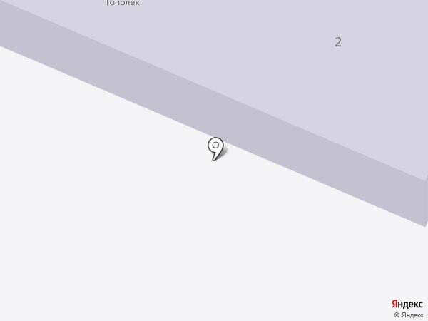 Тополек на карте Мурыгино
