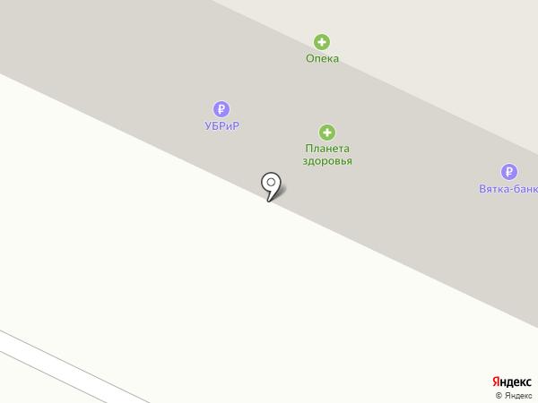 Банкомат, АКБ Вятка-Банк на карте Мурыгино