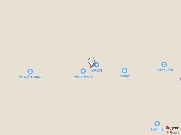 Второй этаж на карте Тольятти