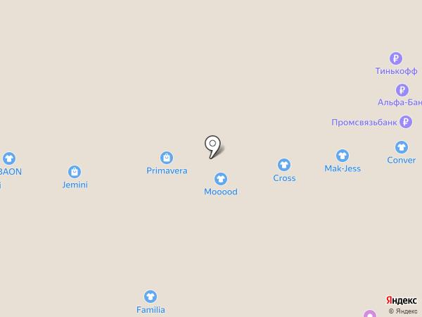 Без галстука на карте Тольятти
