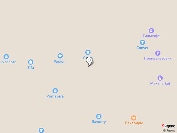 CROSS на карте Тольятти