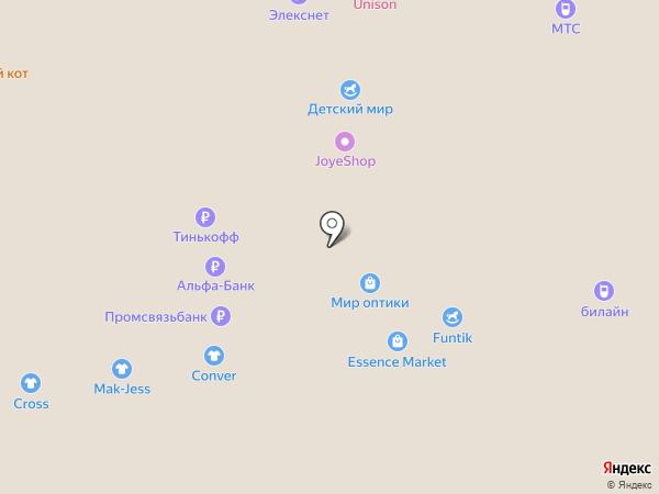 ЭкспрессМатрасс на карте Тольятти