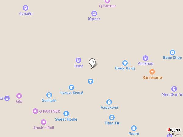 Полцены на карте Тольятти
