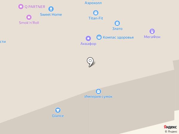Компас здоровья на карте Тольятти