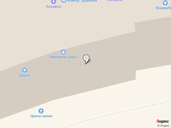 Дефиле на карте Тольятти