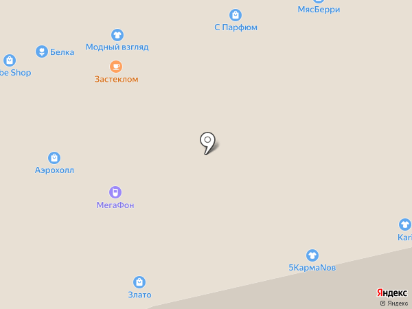 Смарт-сигвей на карте Тольятти