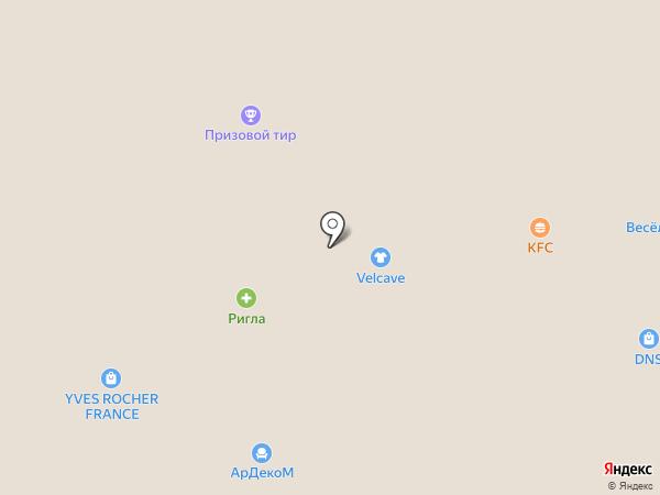 Velvet на карте Тольятти
