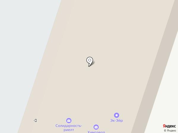 Лесная поляна на карте Тольятти
