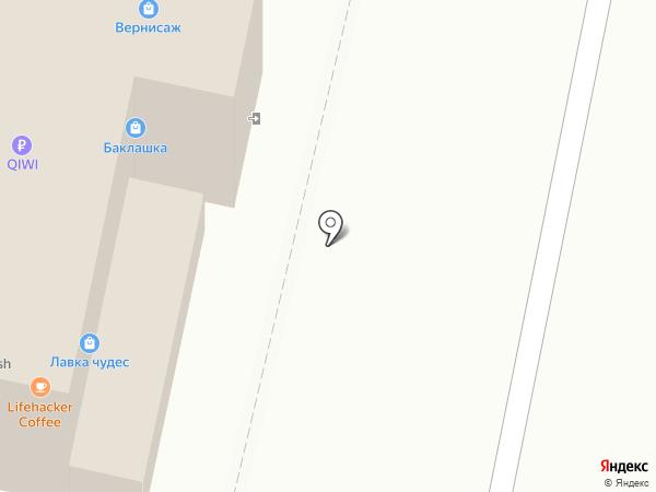 Магазин головных уборов и оптики на карте Тольятти