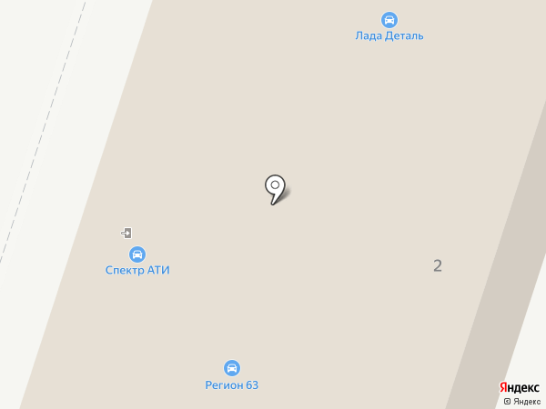 САТЕН на карте Тольятти