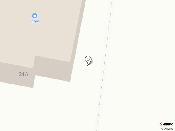 Магазин кондитерских изделий на карте Тольятти