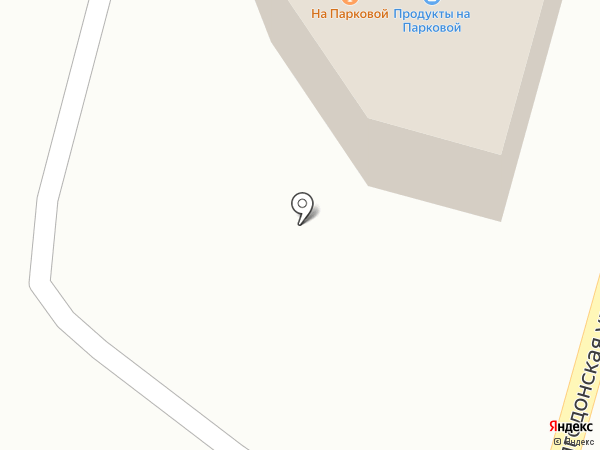 На Парковой на карте Жигулёвска