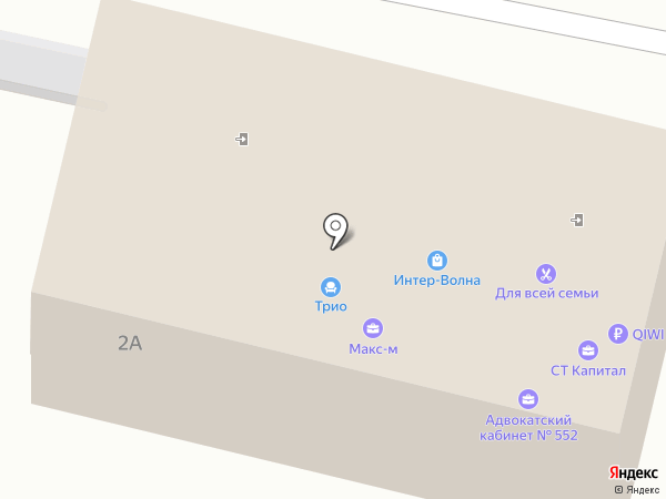 АНК Трейд на карте Тольятти