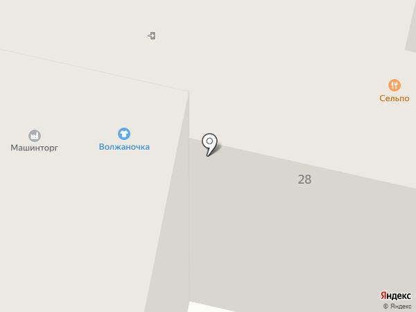 ТОН на карте Тольятти