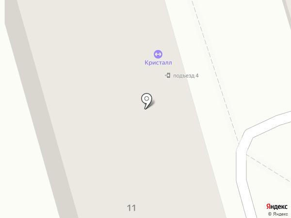 Кристалл, МАУ на карте Жигулёвска