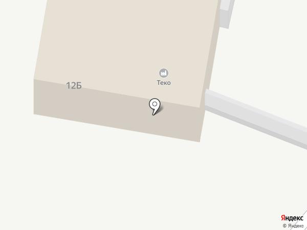 Теко на карте Тольятти
