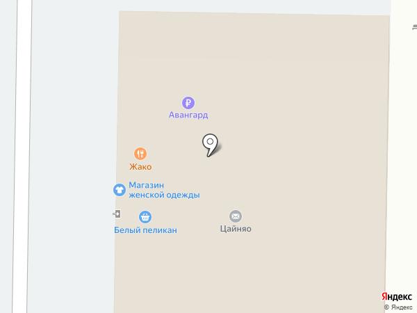 Мистер Жако на карте Тольятти