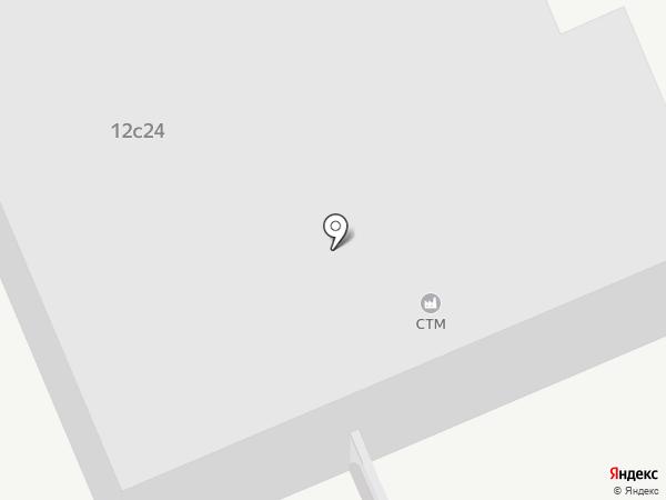 СТМ на карте Жигулёвска