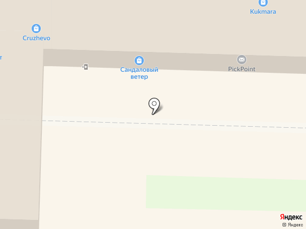 Скарабей на карте Тольятти