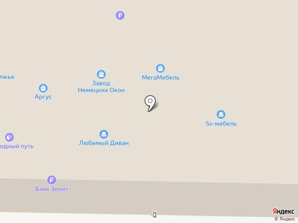 Единая служба натяжных потолков на карте Тольятти