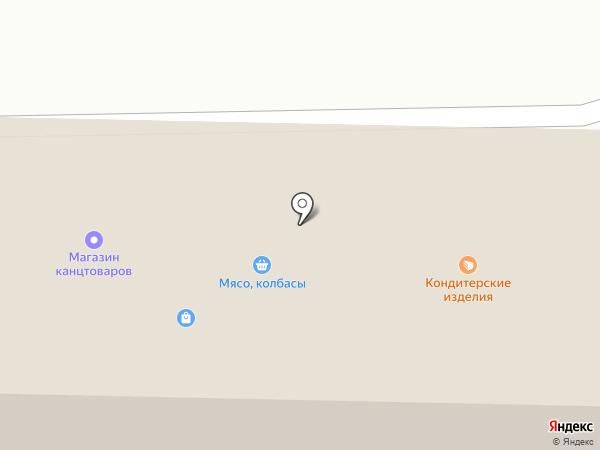 Жигулёвский рынок на карте Жигулёвска