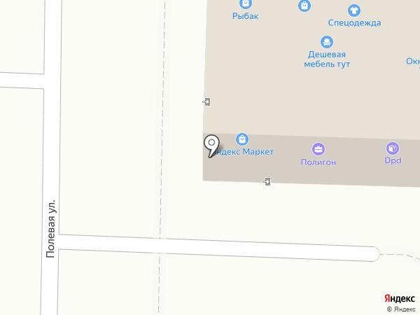 Волгарь на карте Жигулёвска