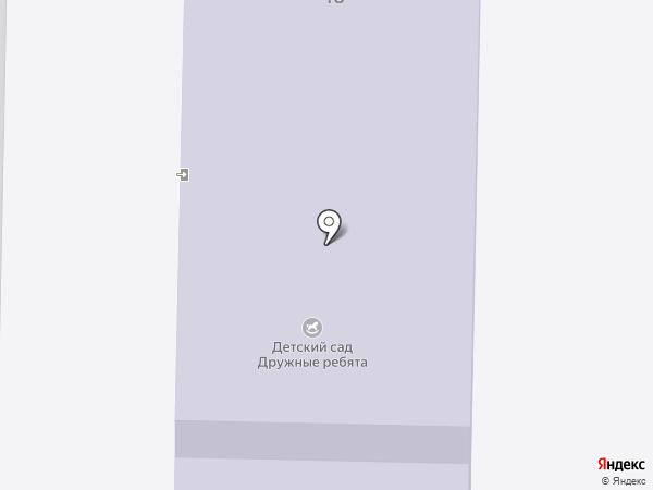 Дружные ребята на карте Жигулёвска