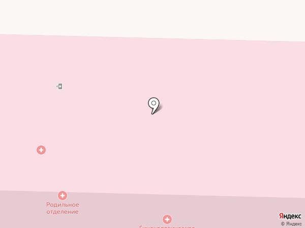 Женская консультация на карте Жигулёвска