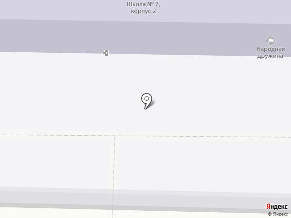 Средняя общеобразовательная школа №7 на карте Жигулёвска