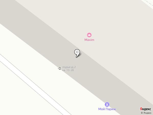Maxim на карте Жигулёвска
