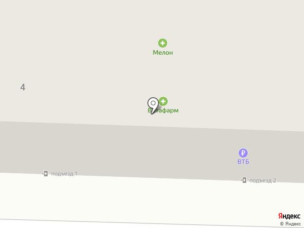 Банкомат, АКБ Росбанк на карте Жигулёвска