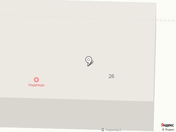 Виллана на карте Жигулёвска