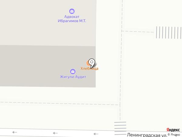 Платёжный терминал, КБ Солидарность на карте Жигулёвска