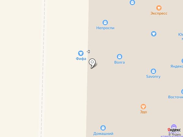 Магазин обуви на карте Жигулёвска