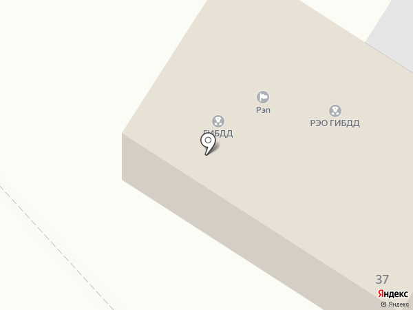 ГИБДД г. Жигулёвска на карте Жигулёвска