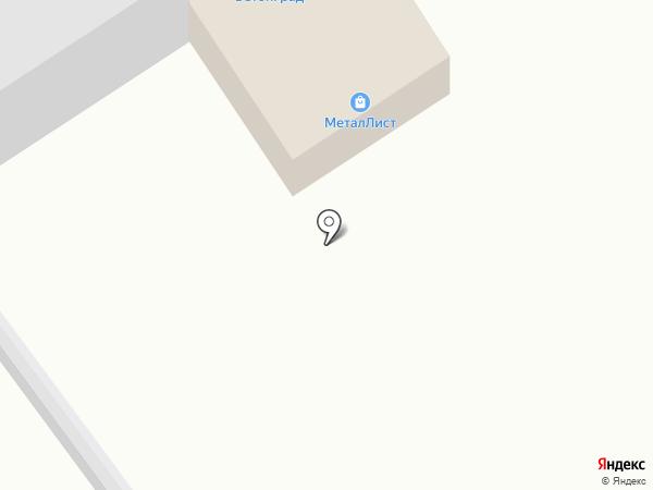 МеталЛист на карте Тольятти