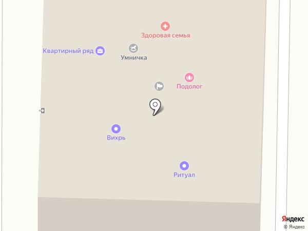 ВИХРЬ на карте Жигулёвска