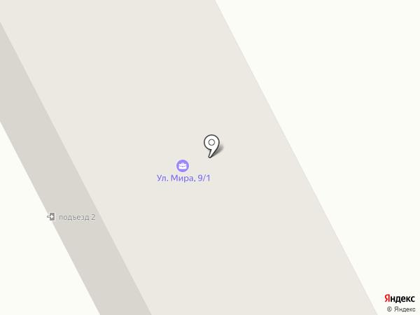 Вятка-Надым на карте Дороничей