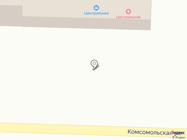 Центральная на карте Жигулёвска
