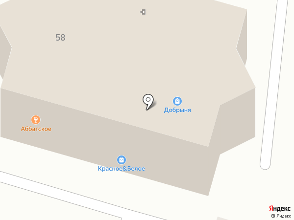 Добрыня на карте Жигулёвска