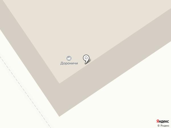 Дороничи на карте Дороничей