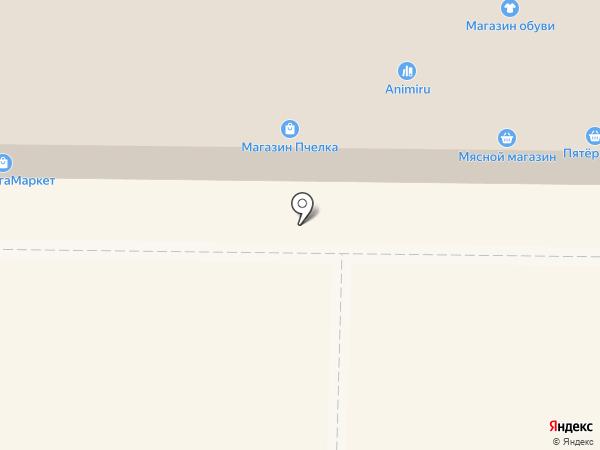 Пятерочка на карте Жигулёвска